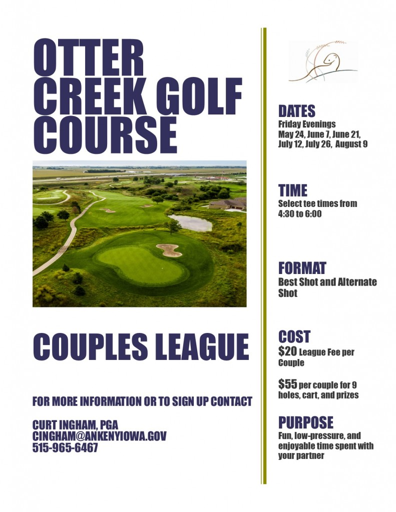 Couples League Flyer